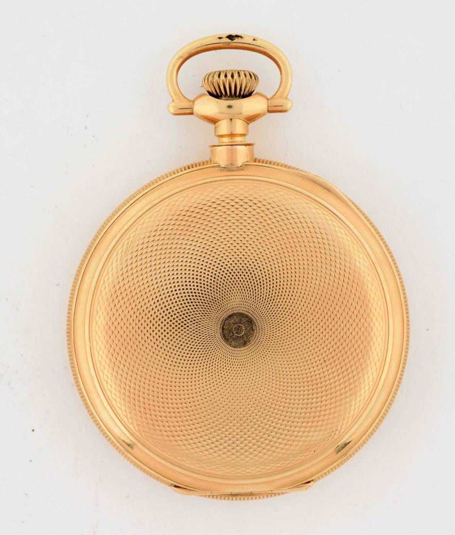E. Howard 14K Gold H/C Pocket Watch 23j. - 2