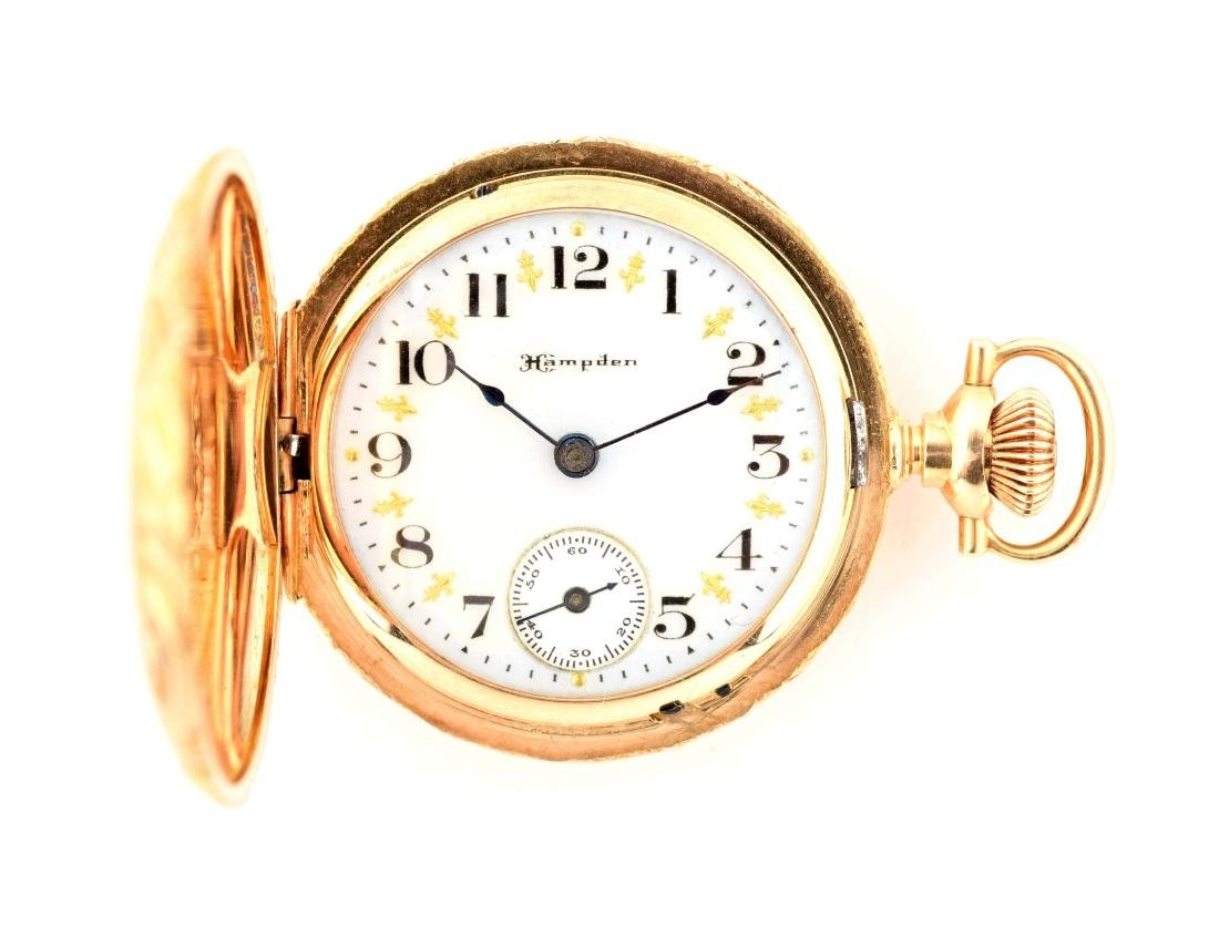Small Hampden Pocket Watch.