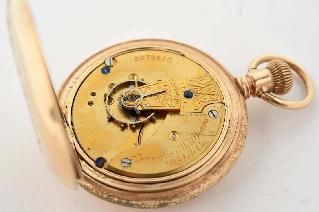 Waltham Gold Filled H/C Pocket Watch Size 18. - 5