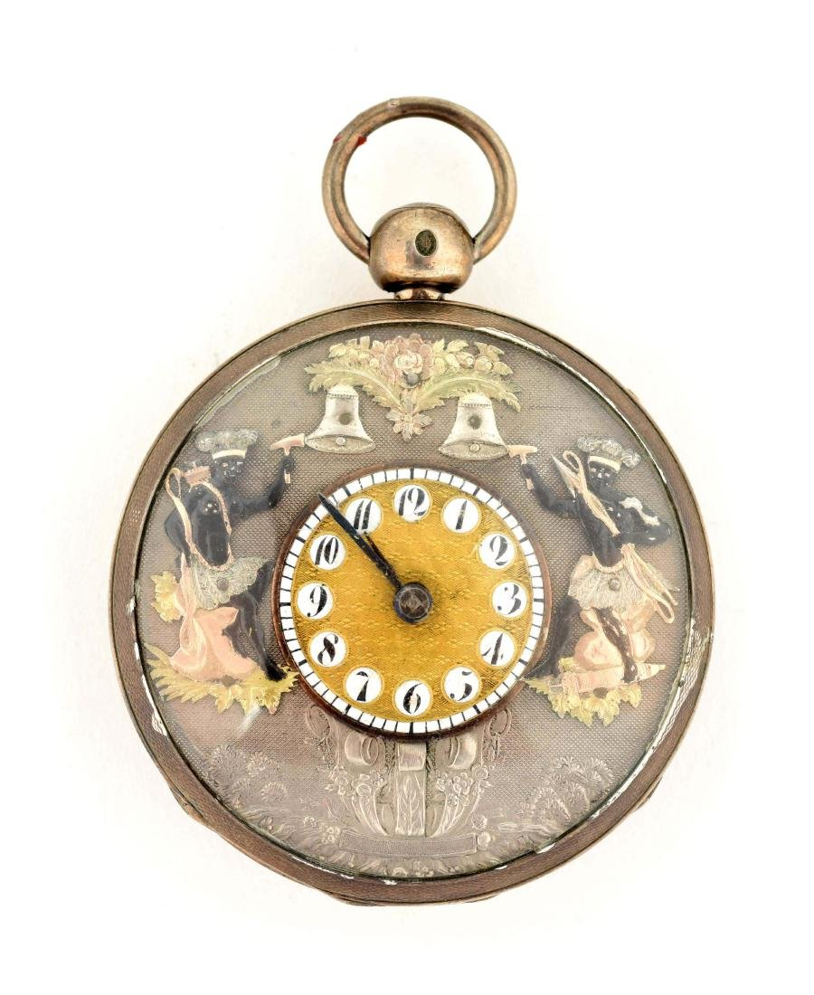 Unmarked Pocket Watch.
