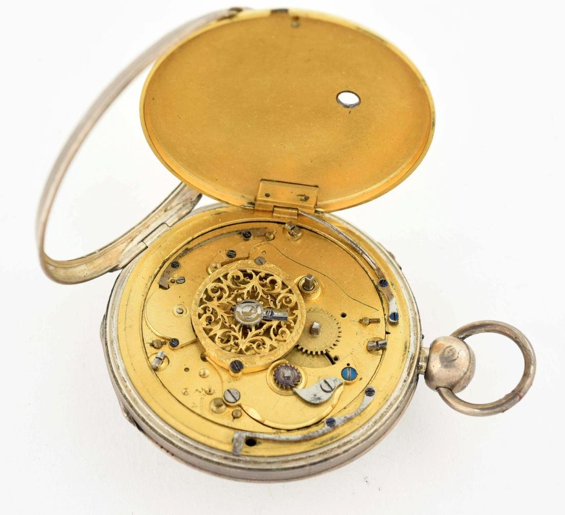 Unmarked Pocket Watch. - 3
