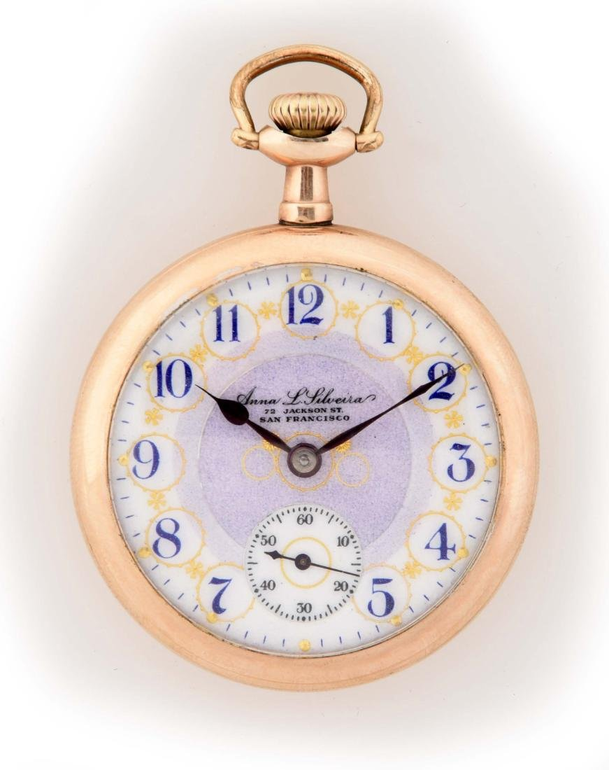 Illinois Private Label Gold Filled O/F Pocket Watch.