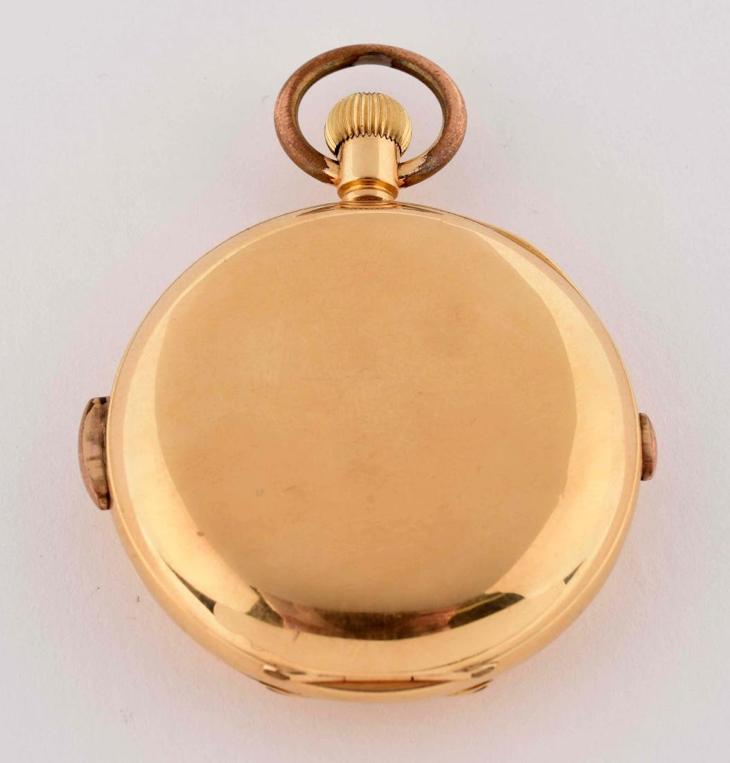 Unmarked Moonphase Repeater Pocket Watch. - 4