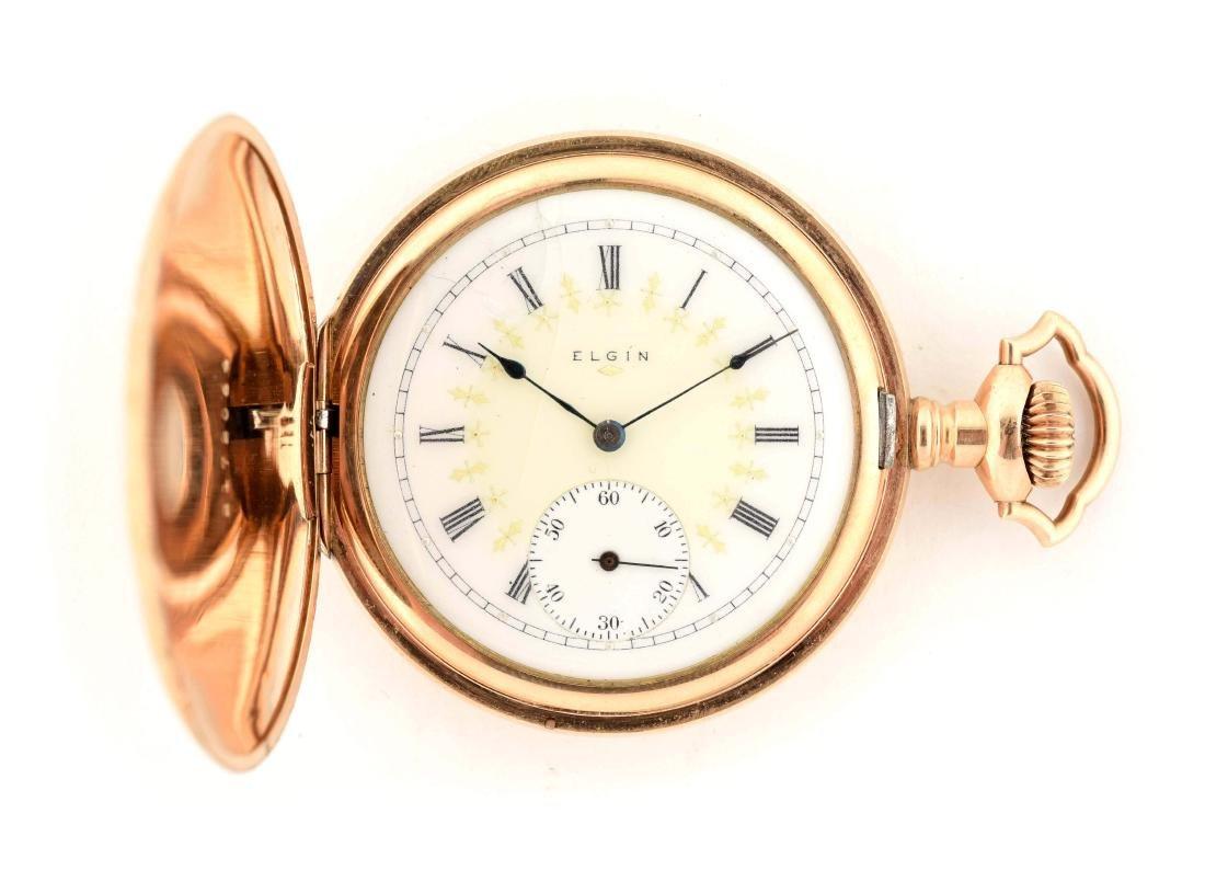 Elgin Gold Filled Pocket Watch.