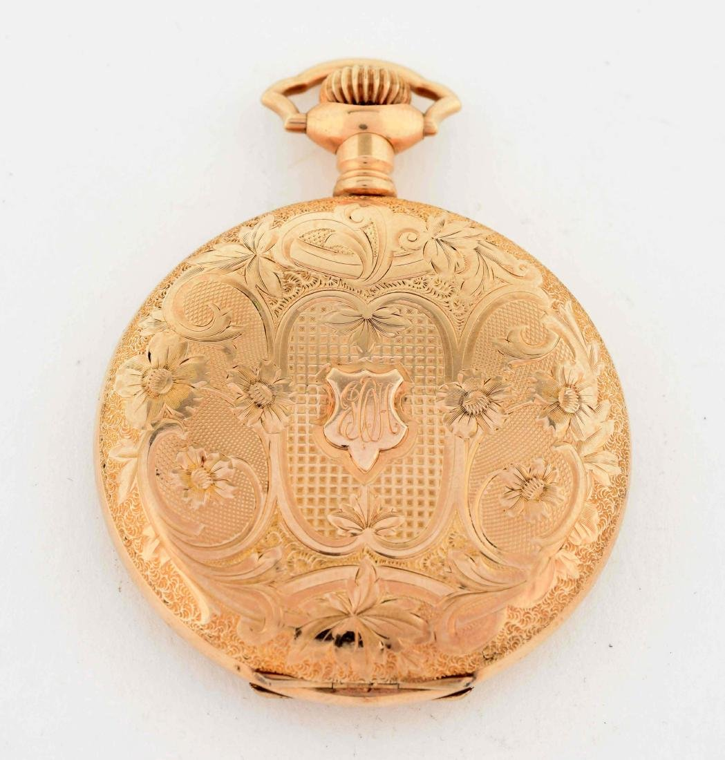 Elgin Gold Filled Pocket Watch. - 3