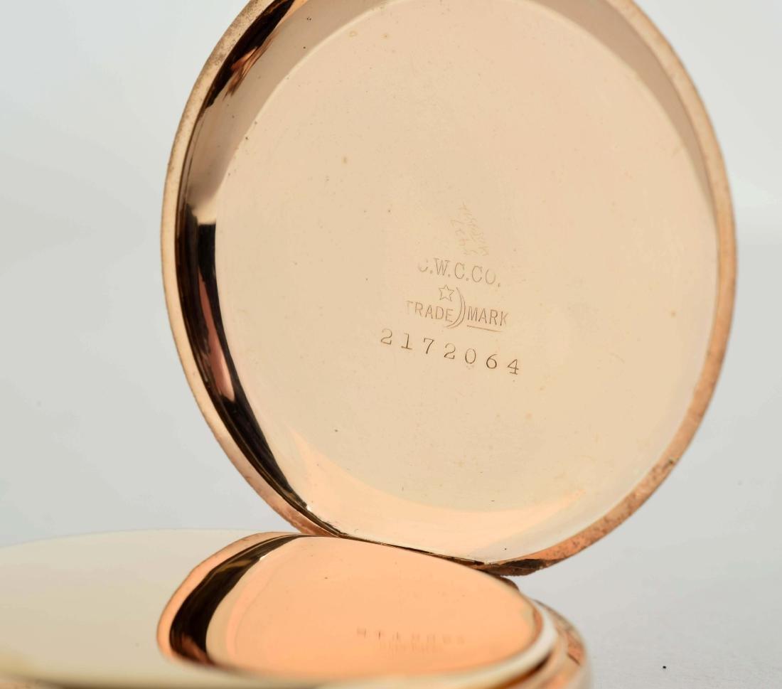 Elgin Gold Filled Pocket Watch. - 4