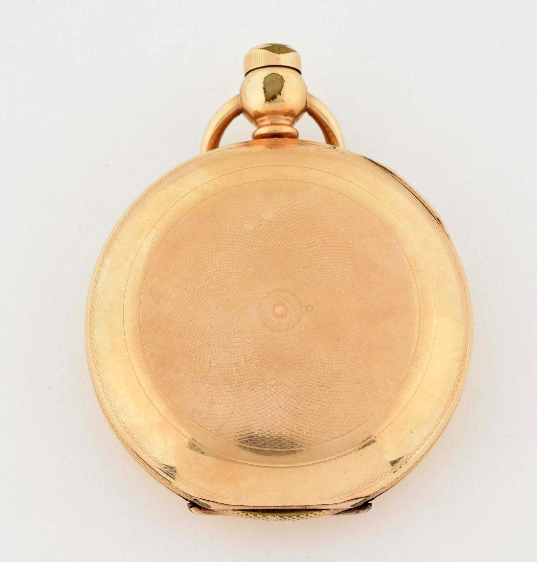 Hampden Watch Co. 14K Gold Filled H/C Pocket Watch Size - 3