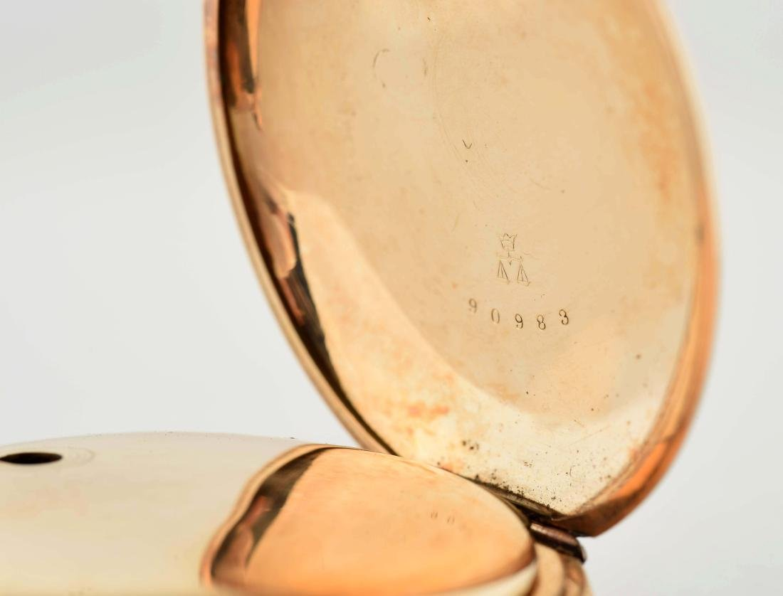 Hampden Watch Co. 14K Gold Filled H/C Pocket Watch Size - 4