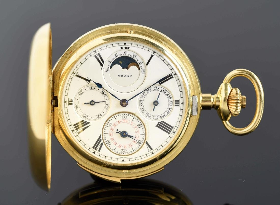 Patek Phillipe for Bailey Banks & Biddle 18K Gold