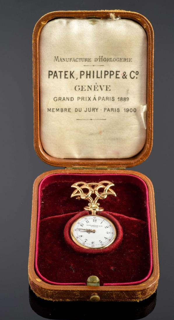 Patek Philipp & Co. Triple Signed Pocket Watch with