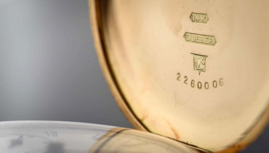 Illinois 14K Gold H/C Pocket Watch Circa 1892. - 5