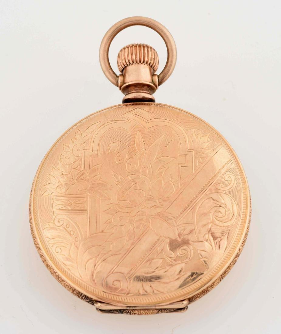 Elgin Gold Filled Sherve & Co H/C Pocket Watch - 2