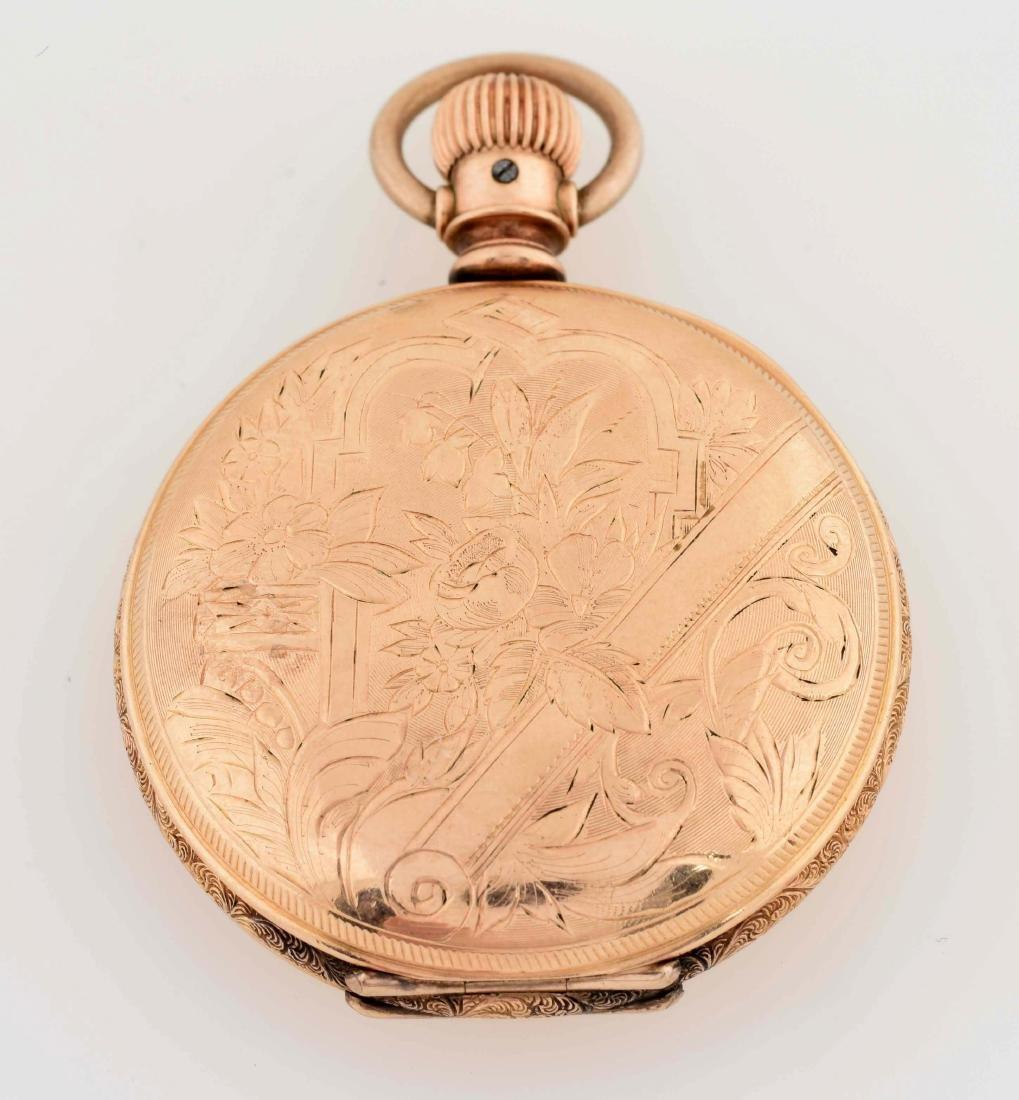 Elgin Gold Filled Sherve & Co H/C Pocket Watch - 3