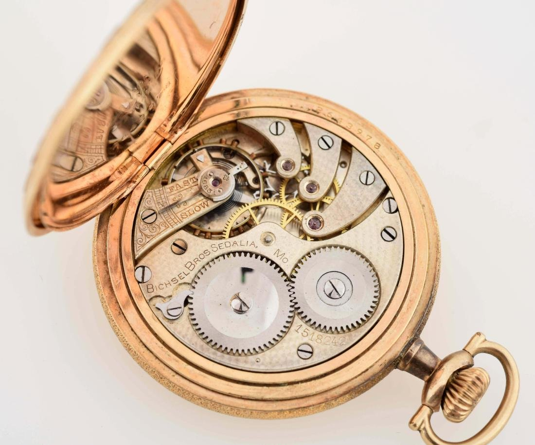 Longines Gold Filled Private Label Fancy H/C Pocket - 5