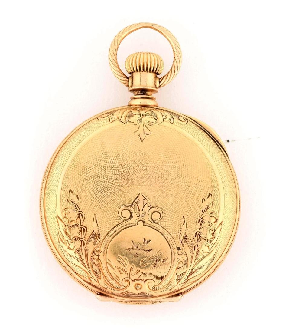 Waltham 18K Gold H/C Pocket Watch Circa 1880.