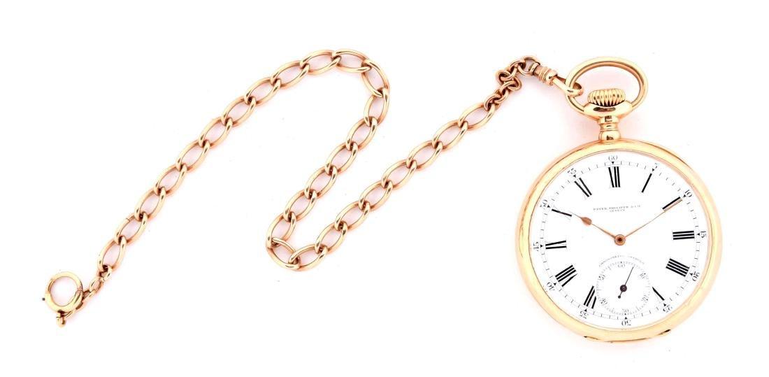 Patek Philippe 18K Gold 1917 Chronometro Gondolo Pocket