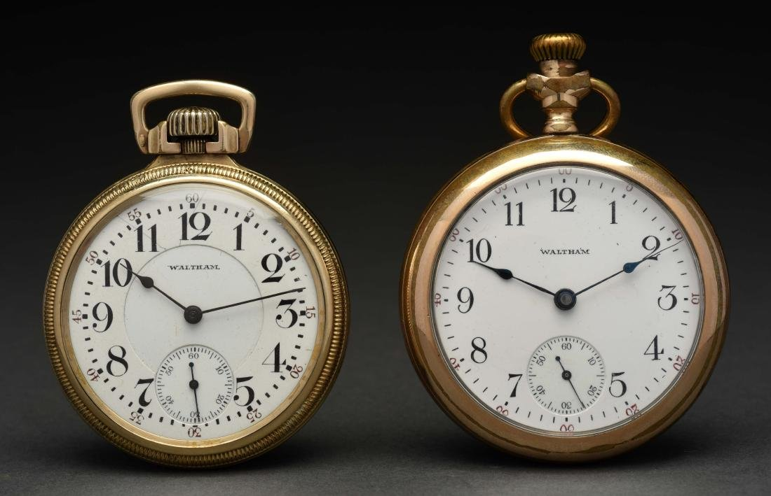 Lot of 2: Pocket Watches.