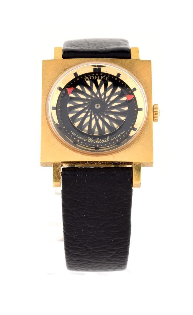 Gold Filled Borel Strap Watch.