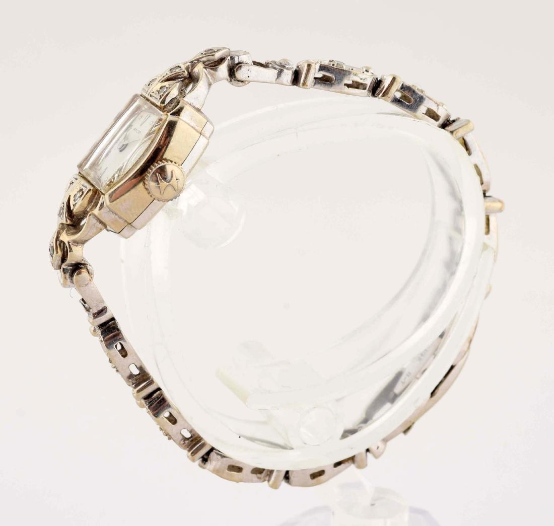 Hamilton 14K Yellow Gold Diamond Set Ladies Watch. - 2