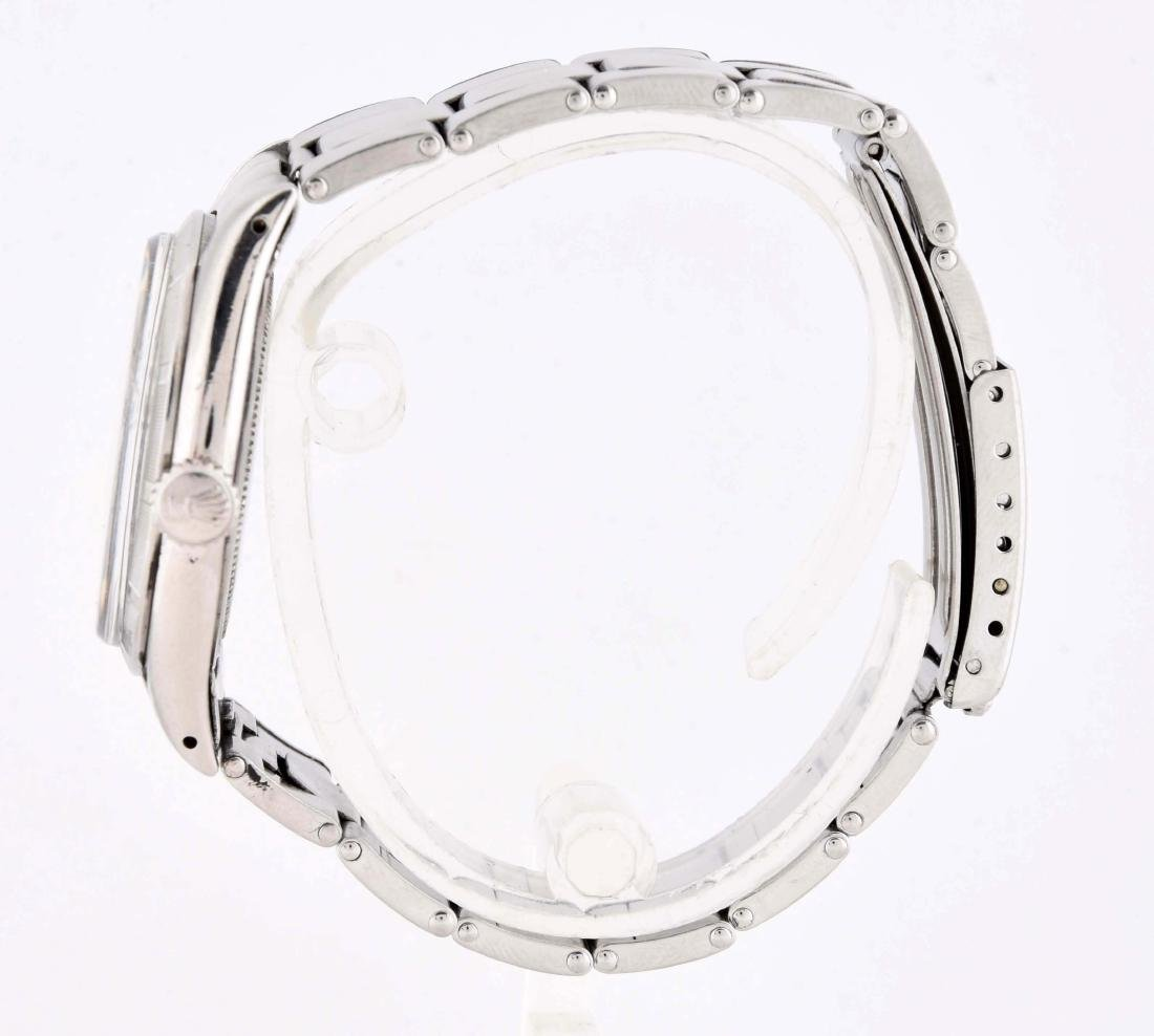 Rolex Stainless Steel Oyster Precision Reed Bezel. - 3