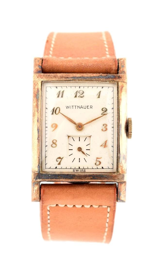 Wittnauer Square Strap Watch.