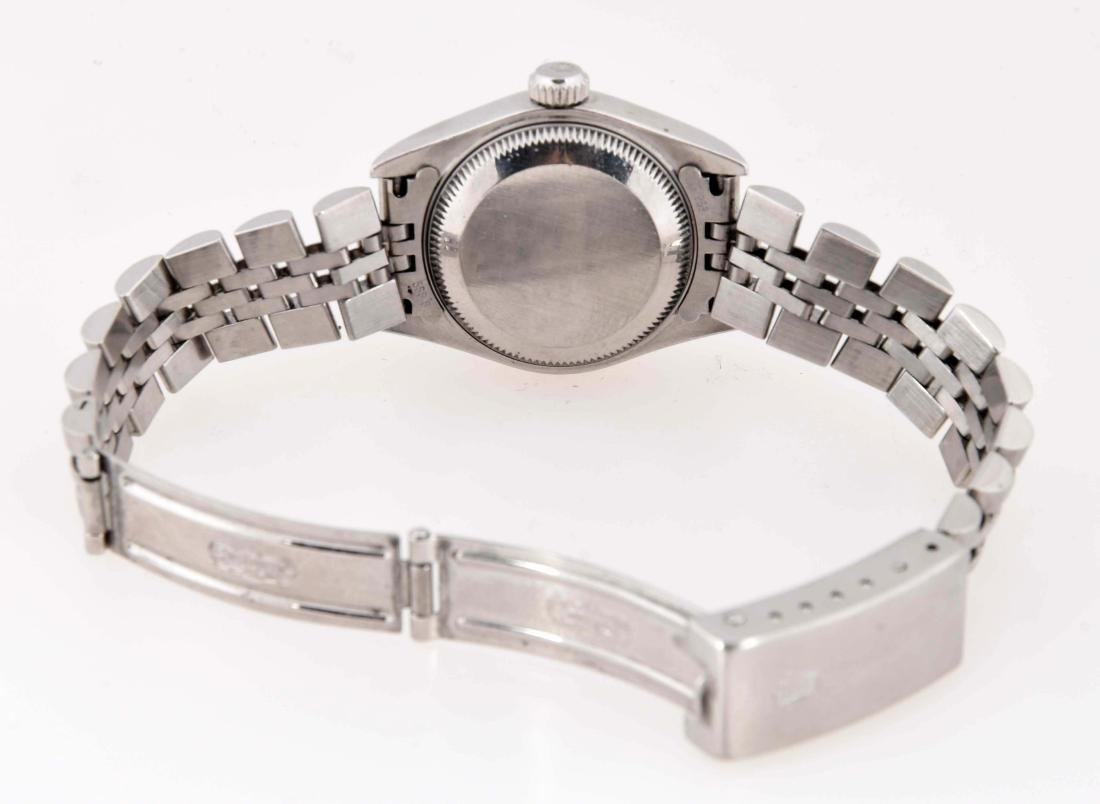 Rolex Ladies Diamond Dial Datejust Stainless Steel with - 5