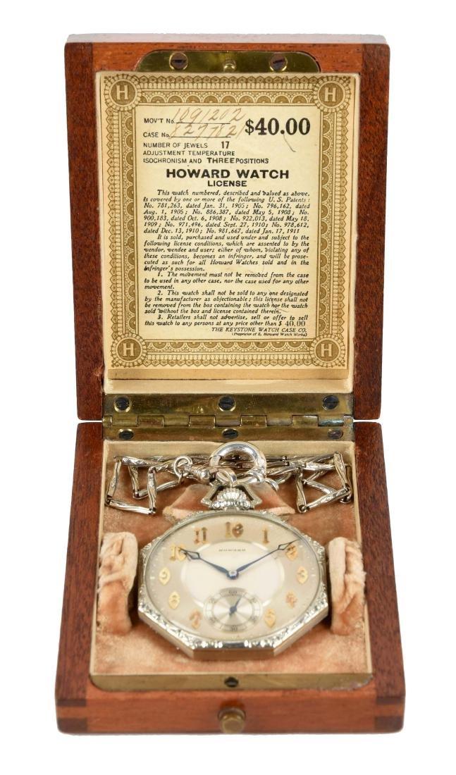 14K Howard Pocket Watch.