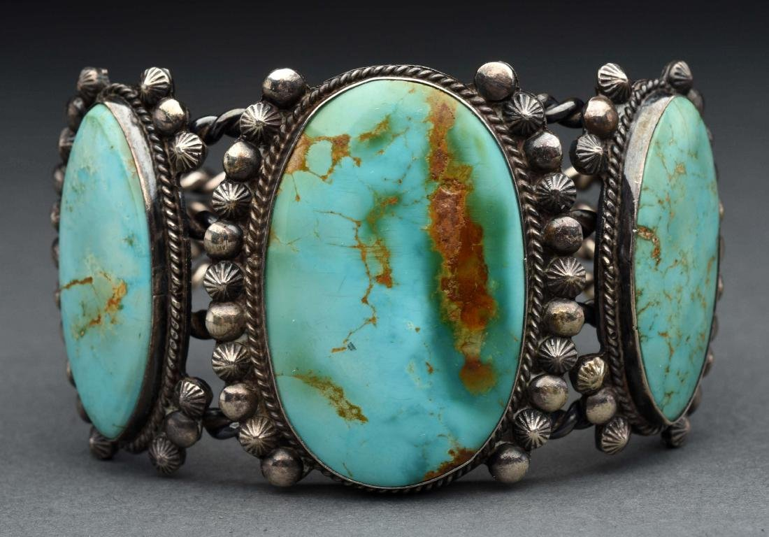 Native American Indian Turquoise Bracelet.