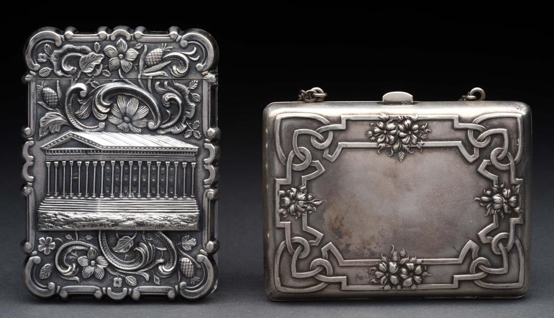 Lot of 2: Antique English Sterling Silver Victorian - 2
