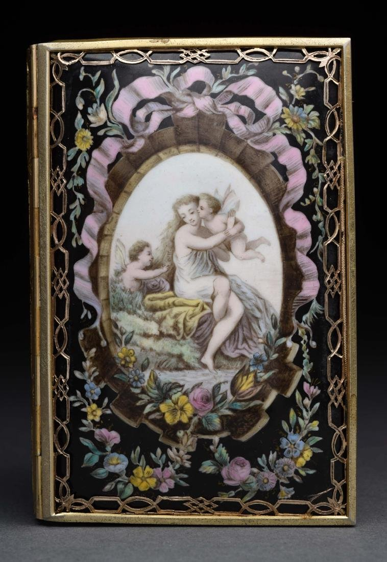 Tiffany Antique Victorian Card Case.