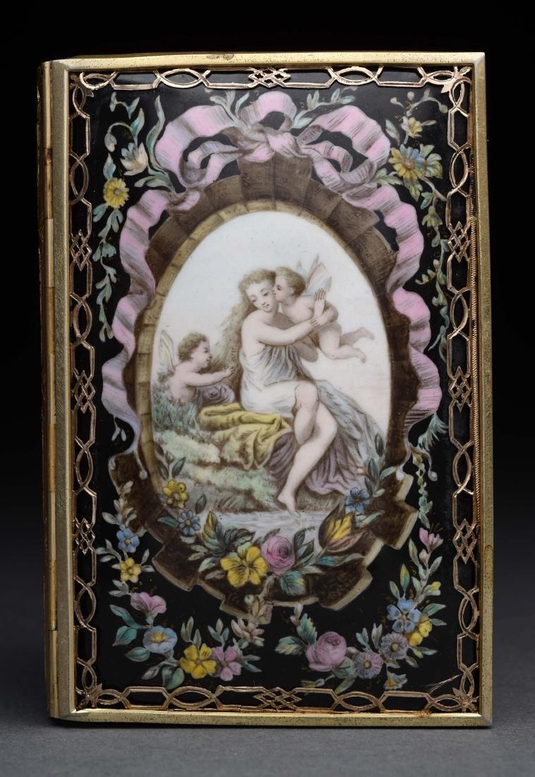 Tiffany Antique Victorian Card Case.