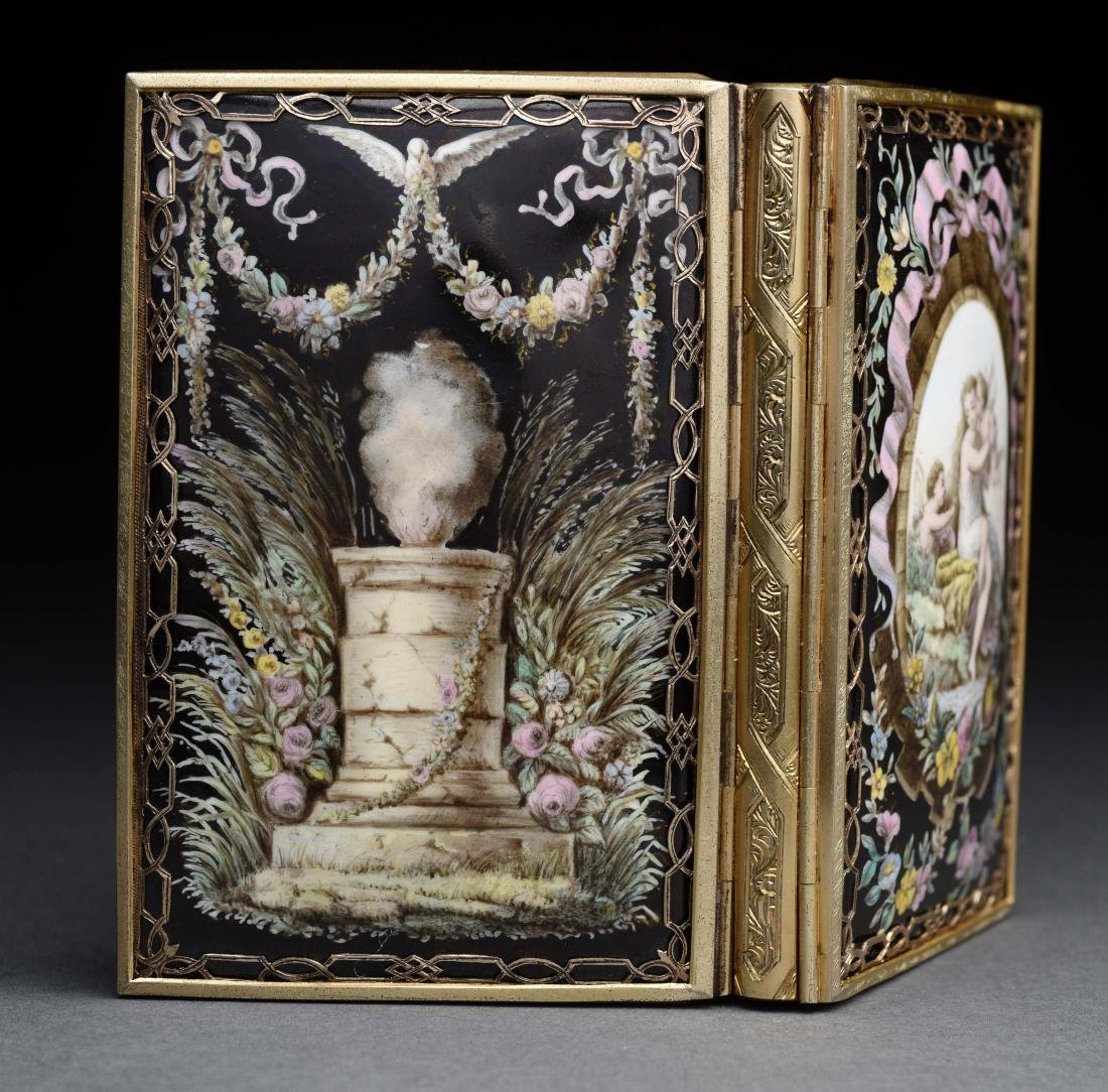 Tiffany Antique Victorian Card Case. - 2