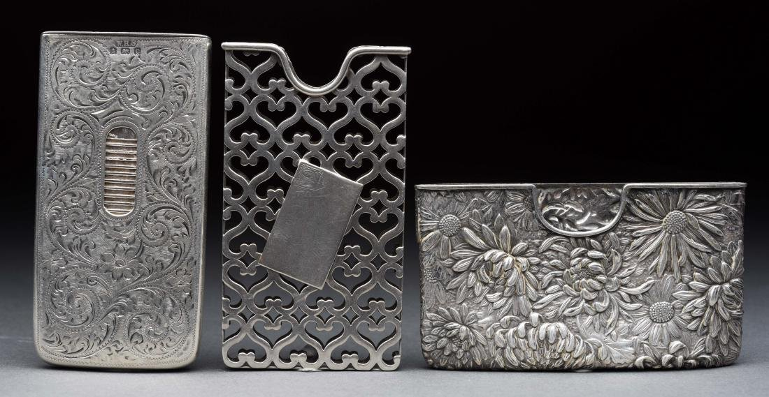 Lot of 3: Antique English Sterling Silver Victorian