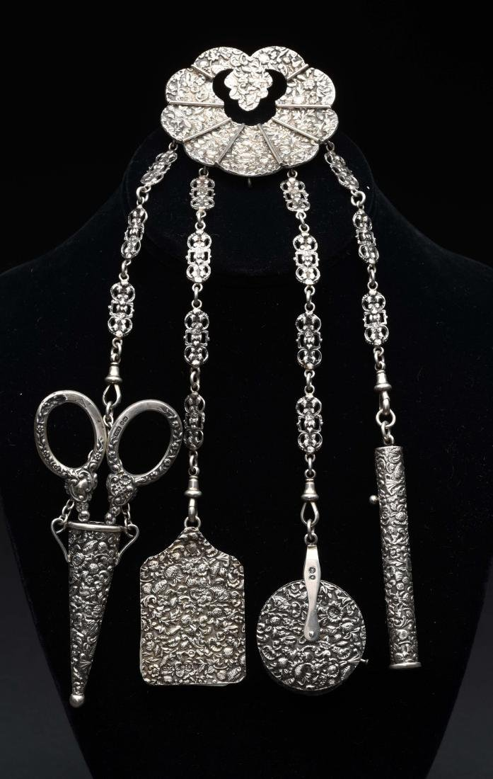 Victorian Antique English Chatelaine.