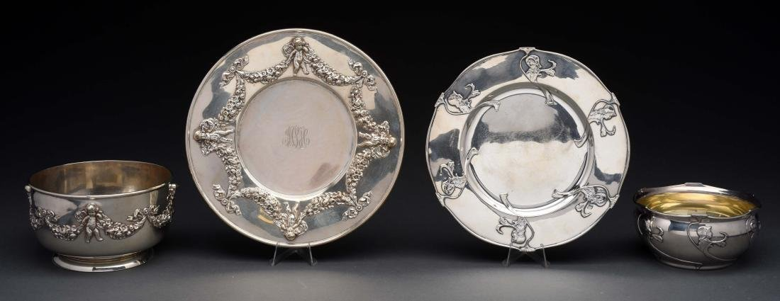 American Sterling Silver Bowl & Under Plate.