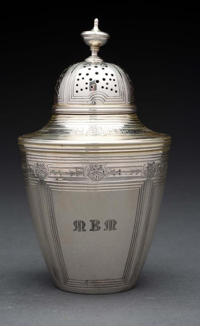Tiffany & Co. Sterling Silver Sugar Caster.