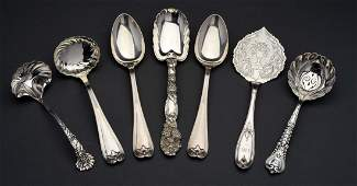 Group of Tiffany Sterling Silver Serving Pieces