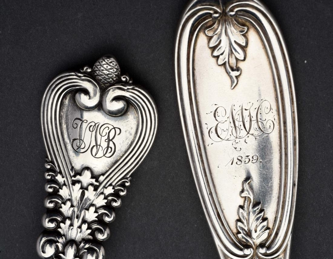 Group of Tiffany Sterling Silver Serving Pieces. - 2