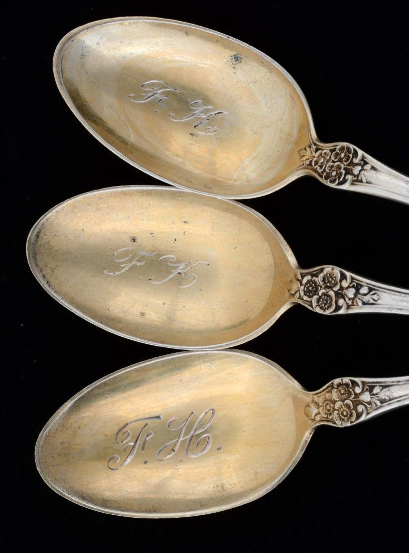 Group of 25: Gorham Sterling Silver Buttercup Pattern - 3
