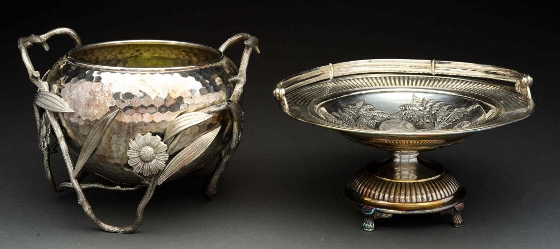 Lot Of 2: Silver Plated Pieces.