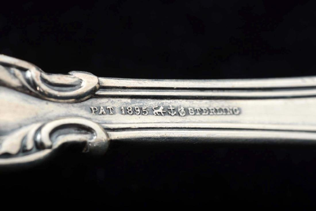 Lot of 7: Sterling Silver Gravy Spoons. - 3