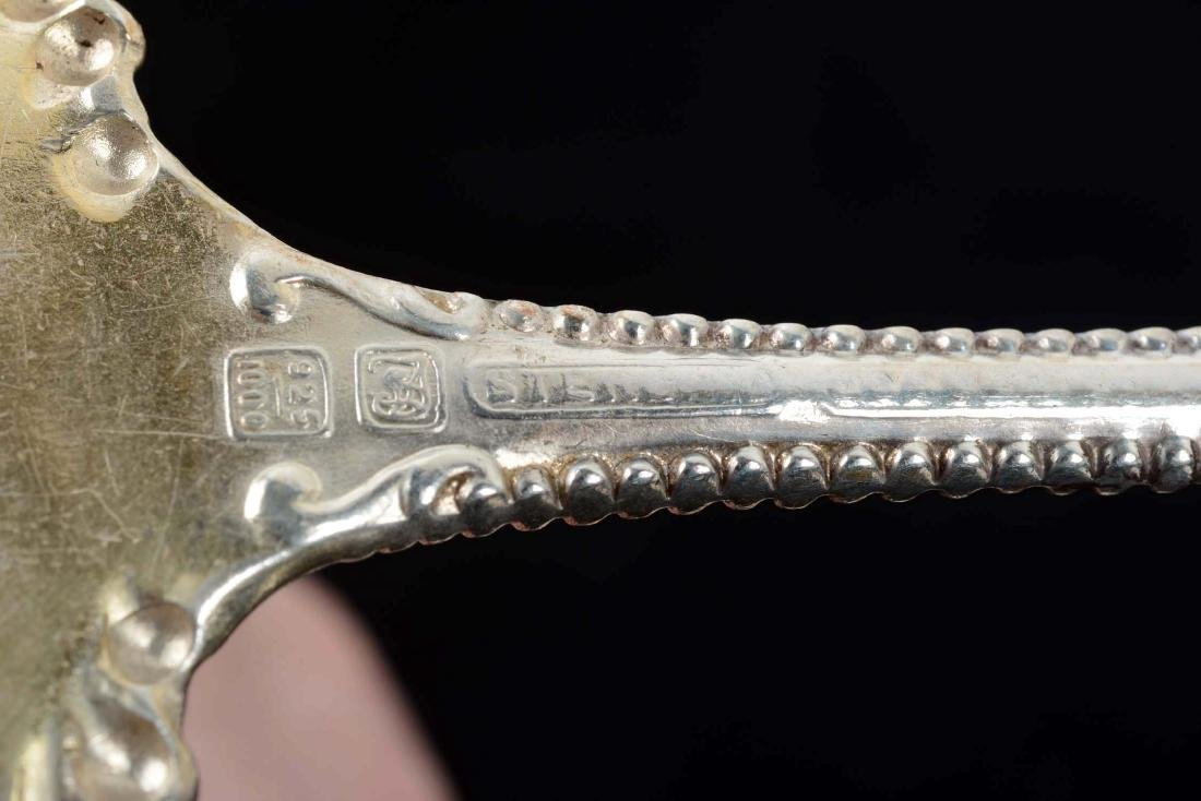Lot of 7: Sterling Silver Gravy Spoons. - 8