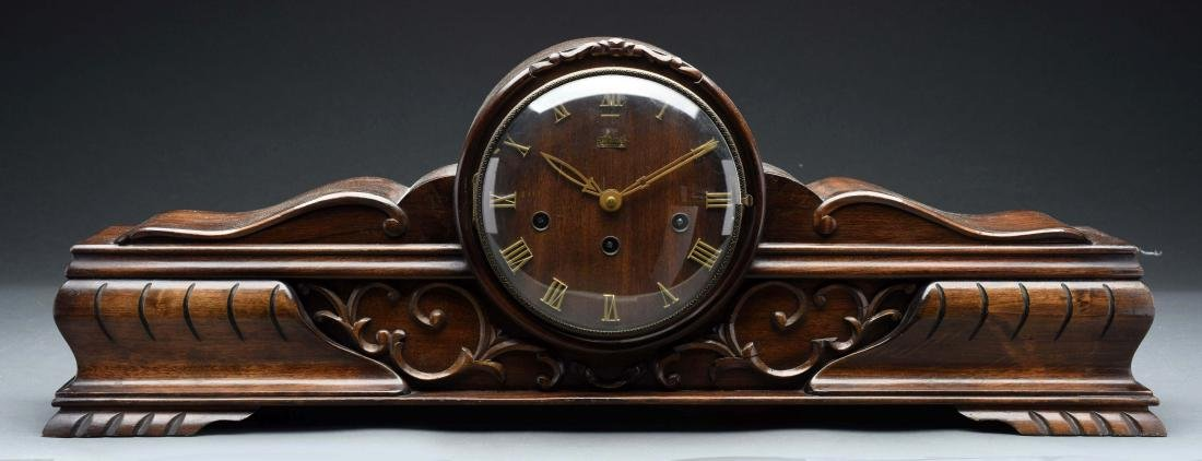 Queensway Mantel Clock by Hermle.