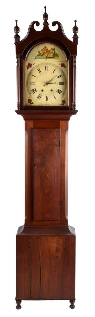 Tall Case Time & Strike Clock.