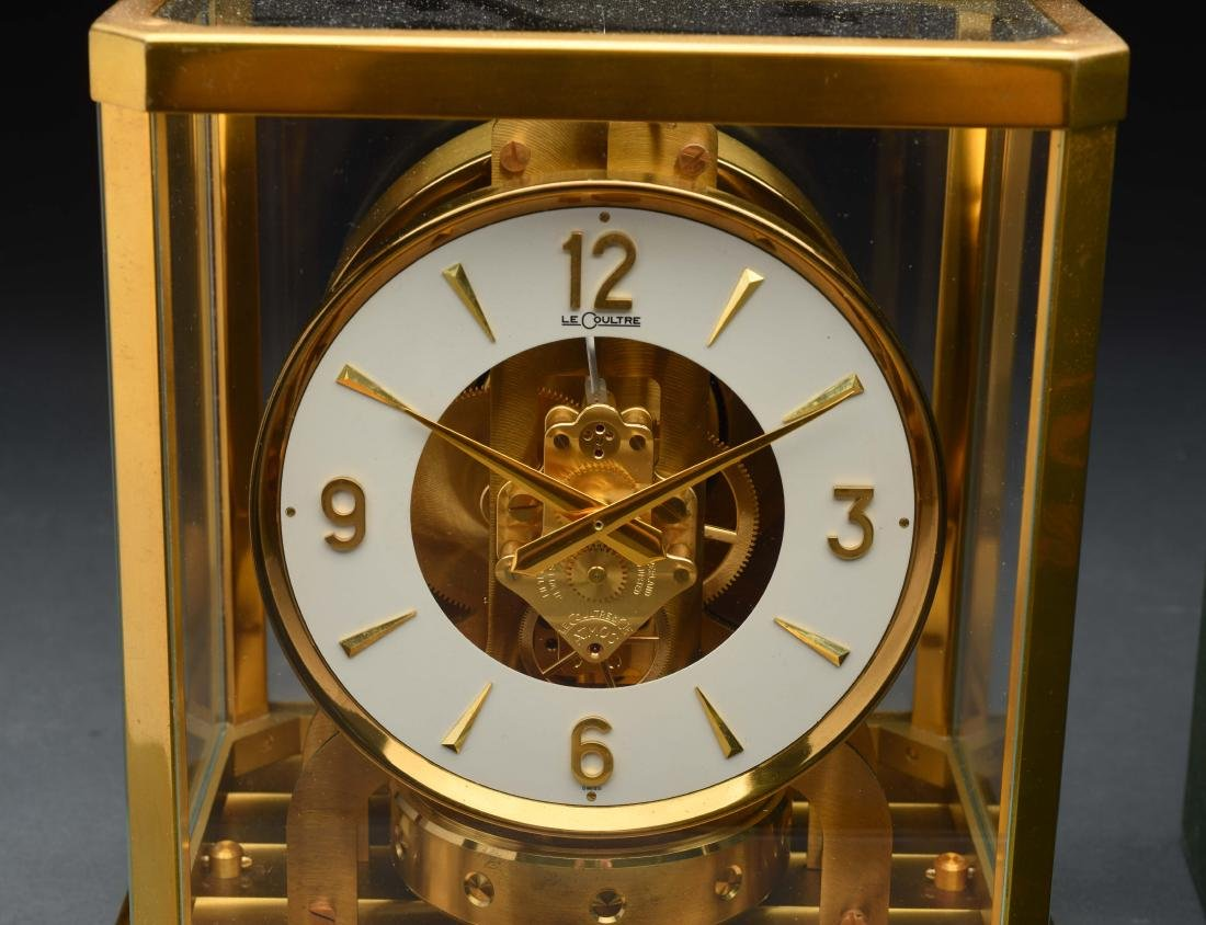 Le Coultre Heritage Atmost Perpetual Motion Clock. - 2