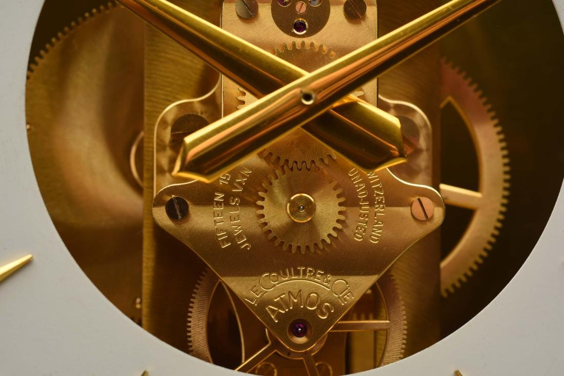 Le Coultre Heritage Atmost Perpetual Motion Clock. - 3