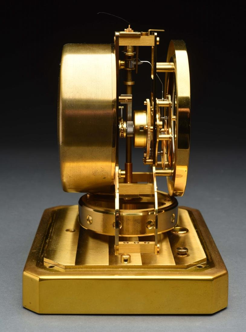 Le Coultre Heritage Atmost Perpetual Motion Clock. - 4