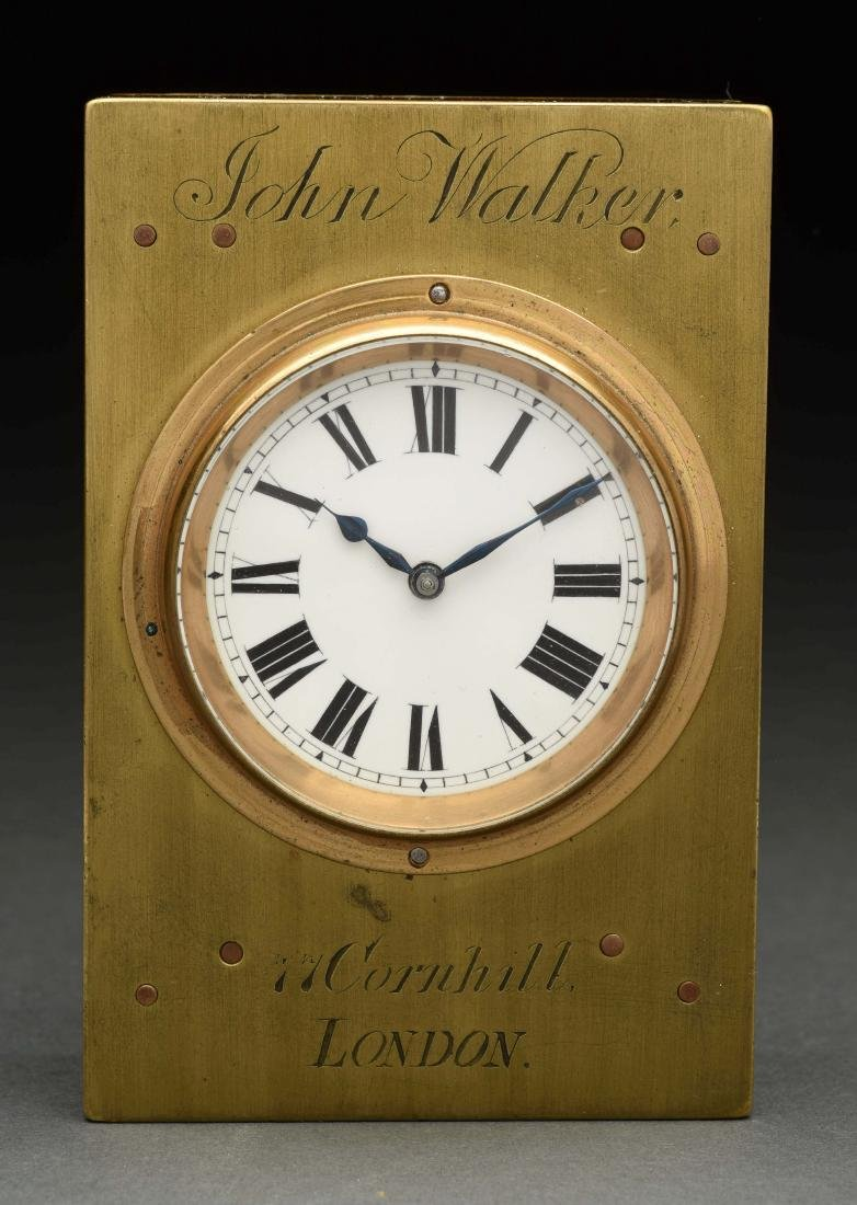 John Walker London Clock.