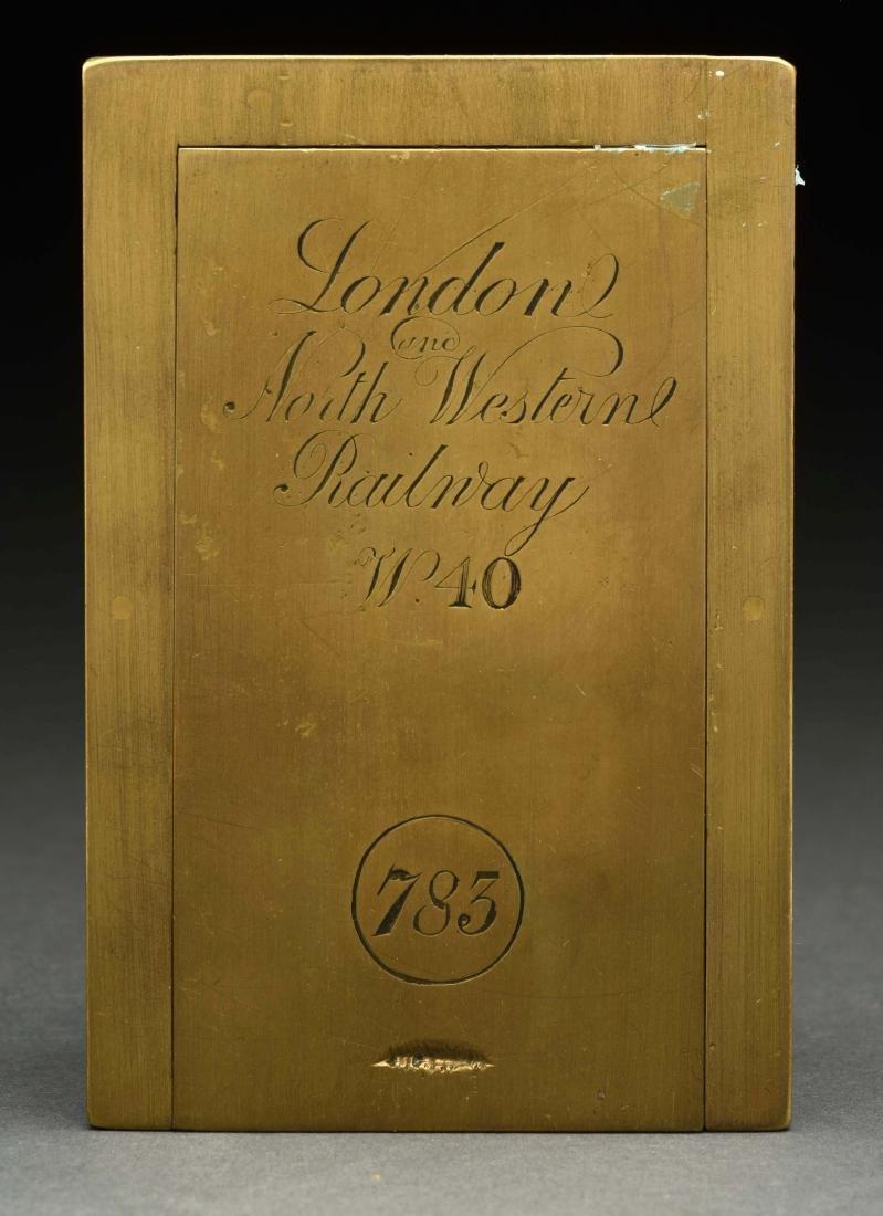 John Walker London Clock. - 2