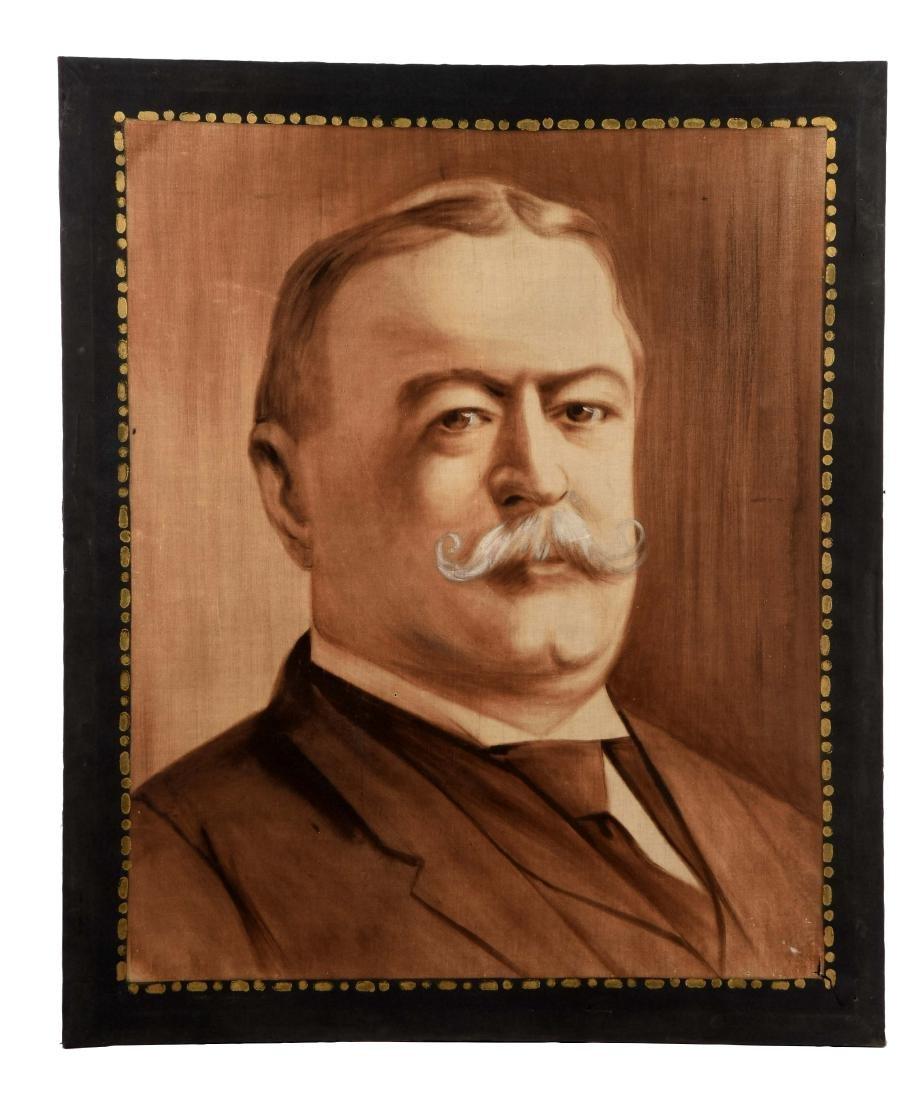 Canvas Portrait of Taft.